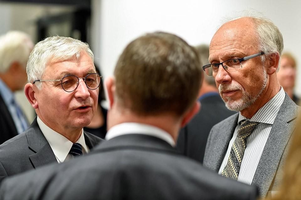 Prof. Dr. Gehard Stemmler, Geschäftsführer Transmit; Prof. Dr. Conny Antoni, Präsident DGPs