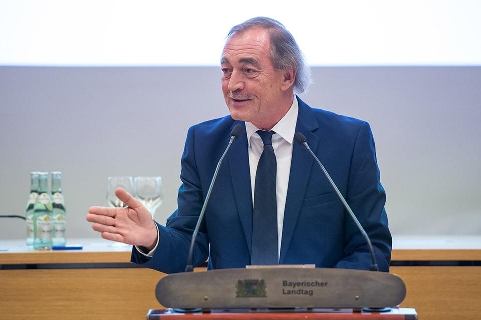 Franz Schindler, Vorsitzender des Ausschusses für Verfassung, Recht und Parlamentsfragen im Bayerischen Landtag
