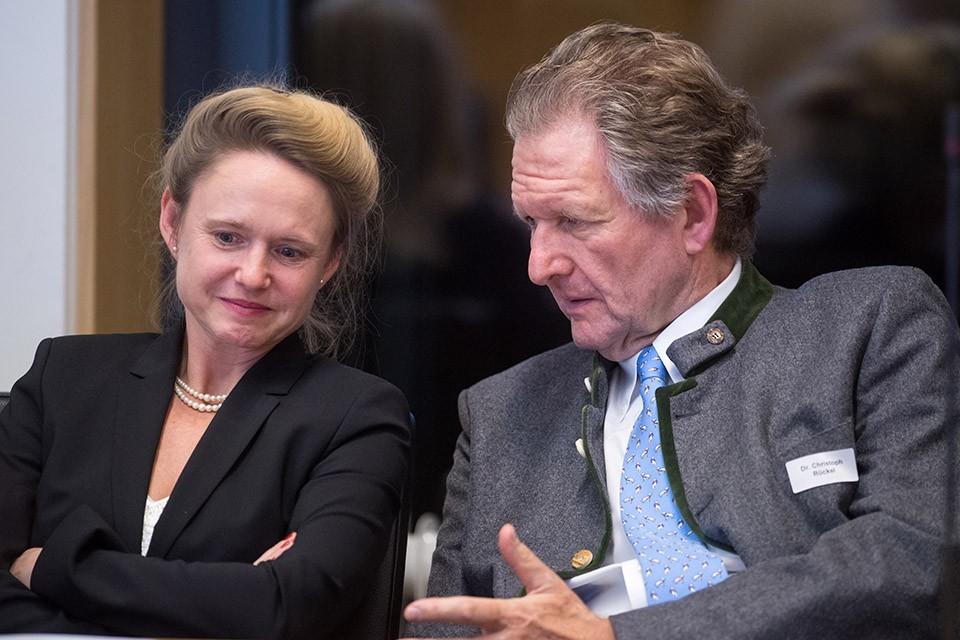 Dr. Rita Coenen, Leiterin Fachinstitut Familienrecht Deutsches Anwaltsinstitut (DAI); Dr. Christoph Rückel, Kanzlei Rückel & Kollegen