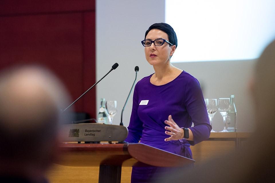 Dr. Dorothea Gaudernack, Leiterin des Amtes für Maßregelvollzug in Bayern