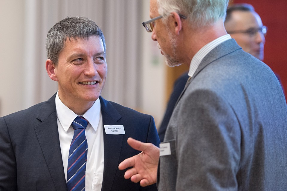 Prof. Dr. Kolja Schiltz, LMU München; Prof. Dr. Conny Antoni, Präsident DGPs