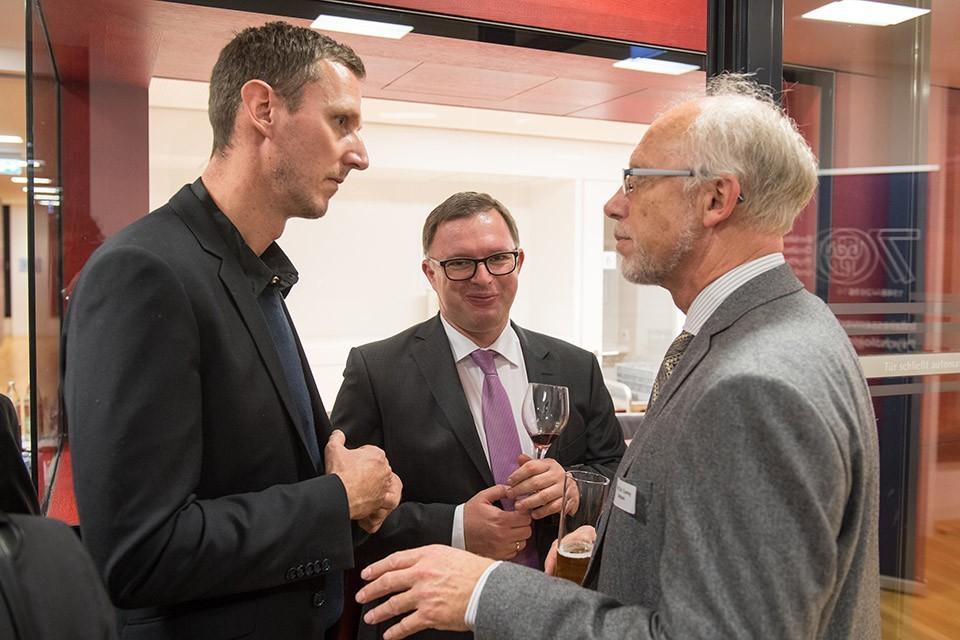 Prof. Dr. Herrmann Müller, Department Psychologie LMU München; Prof. Dr. Markus Bühner Präsident des Fakultätentages Psychologie, LMU München; Prof. Dr. Conny Antoni, Präsident DGPs