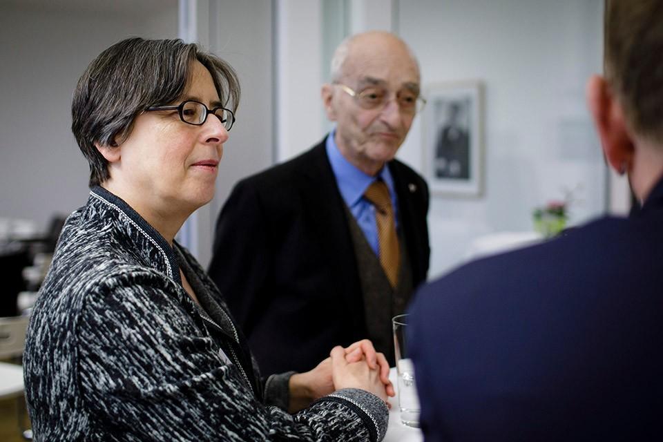 Annette Schlipphak, Vizepräsidentin Berufsverband Deutscher Psychologinnen und Psychologen, Günther Romkopf, Sektion Rechtspsychologie