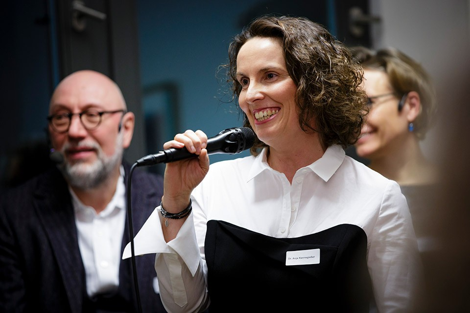 Anja Kannegießer, Vorsitzende der Sektion Rechtspsychologie